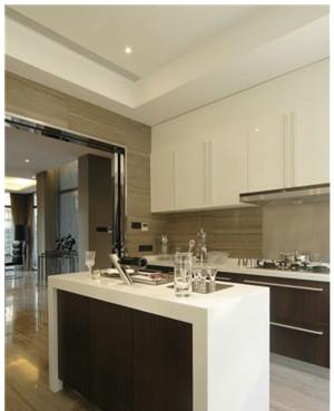 欧式白色大户型欧式厨房设计