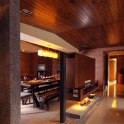 日式客厅简约系类实木客厅