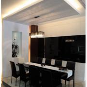 欧式现代化饭店餐桌设计