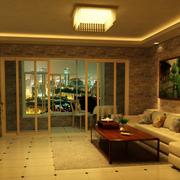 欧式森系沙发装修设计