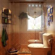 田园式浴室设计
