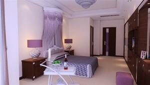两室两厅中式风格装修样板间