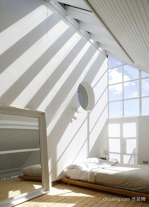 阁楼卧室效果图