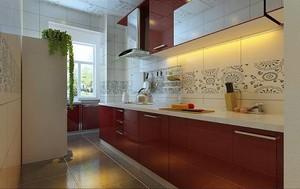 混搭厨房装修效果图,打造不一样的家居