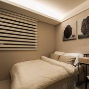 中式古典式白色小卧室设计