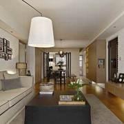 客厅欧式大型电视柜装修设计效果