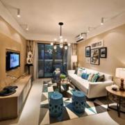 客厅大户型美式风格