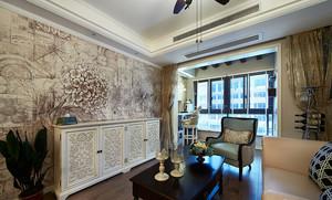三室两厅混搭风格装修效果图