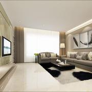 现代简约型高清家装效果图
