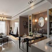 欧式大户型客厅设计效果欣赏