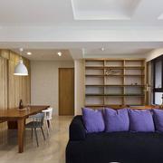 北欧紫色沙发抱枕设计