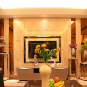 欧式精美型新古典客厅设计