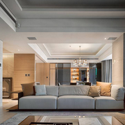 简约系客厅沙发设计