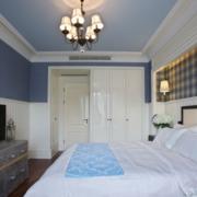 地中海紫色优雅型小户客厅设计