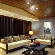 日式简约系列客厅设计