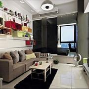 唯美的客厅色调搭配