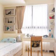 公寓儒雅型女生卧室设计