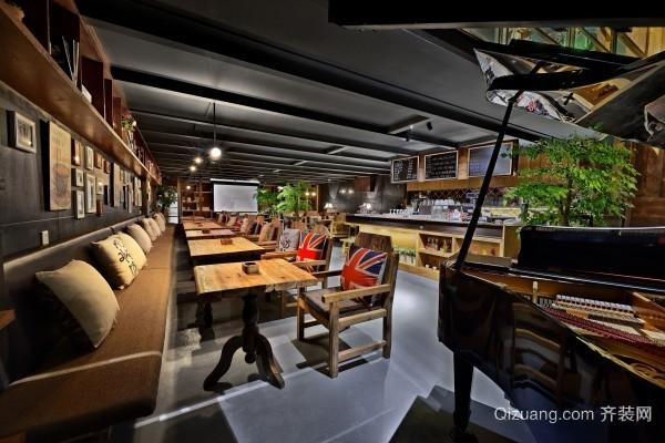 都市中小型咖啡馆装修效果图