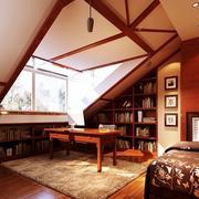 书房设计图两层别墅
