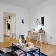 公寓简约系列客厅效果图