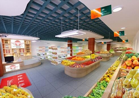 70平水果店内部装修与摆设图-齐装网装修效果
