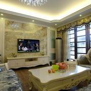 欧式典雅式样客厅设计