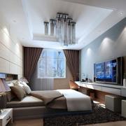 别墅简约欧式卧室设计
