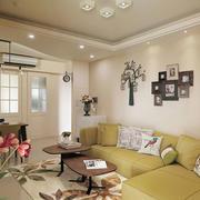 暖色调简约型沙发设计