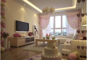 新婚婚房装饰效果图