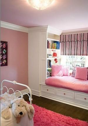 可爱卡通风格儿童床装修设计效果图
