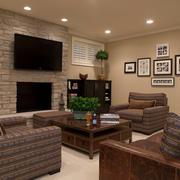 客厅内部灯光设计
