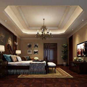现代时尚美式小卧室榻榻米装修图大全