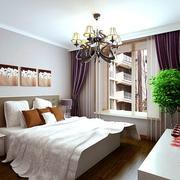 美式大户型简约时尚卧室设计