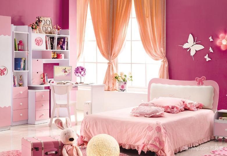 女生卧室设计效果图