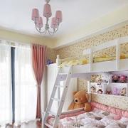 粉色清新儿童房