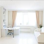 精致唯美的白色客厅