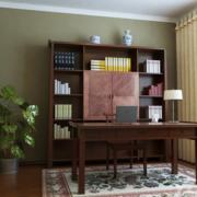 书房设计图华丽复古款