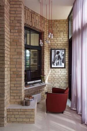 高层住宅室内阳台装修效果图