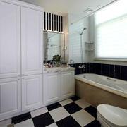 典雅简洁型卫生间装修