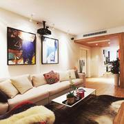 二居室装修图例家常款