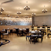 中式豪华型饭店装修