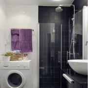 卫生间设计简约效果