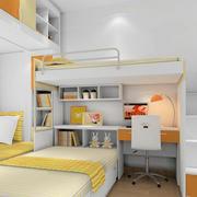 暖橙色儿童房设计