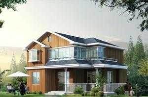 总价20万农村2层3房屋小别墅效果图