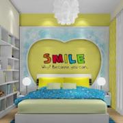 清新亮色系儿童房设计