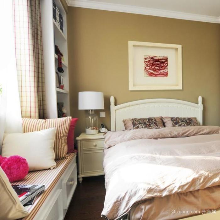 一室一厅一卫小型公寓装修效果图