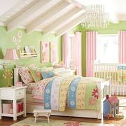 简约粉色系列卧室样板间