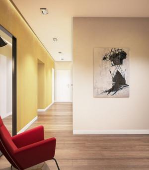180平大户型简约风格住宅设计