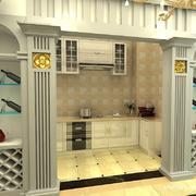 酒柜设计背景墙图