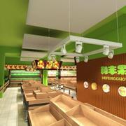 水果店绿色小户型
